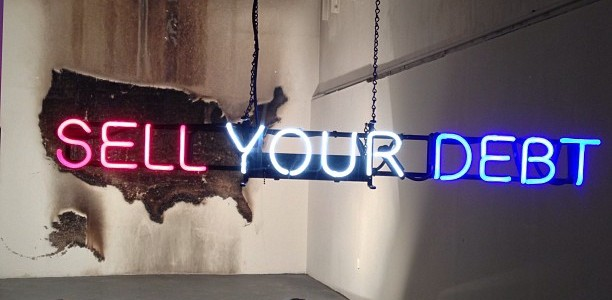 Claire Fontaine, &#8220;Sell Your Debt&#8221; (2013) at Queen&#8217;s Nails Claire Fontaine (CF) is a Paris-based collective artist. They named themselves after a popular French stationary company, and began to rise...