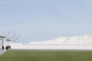 Lauren Marsolier, Landscape with Lawn, 2012