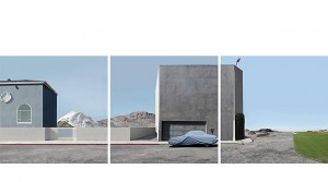 Lauren Marsolier, Landscape with Covered Car 2012