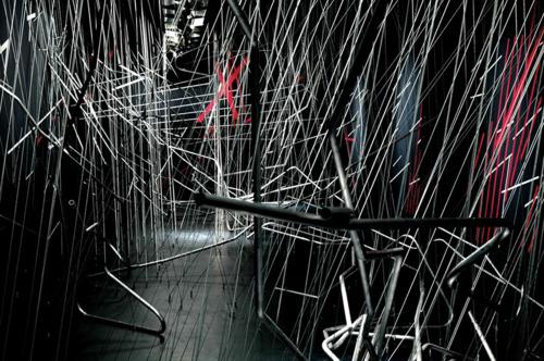Lebbeus Woods' System Wien, 2006