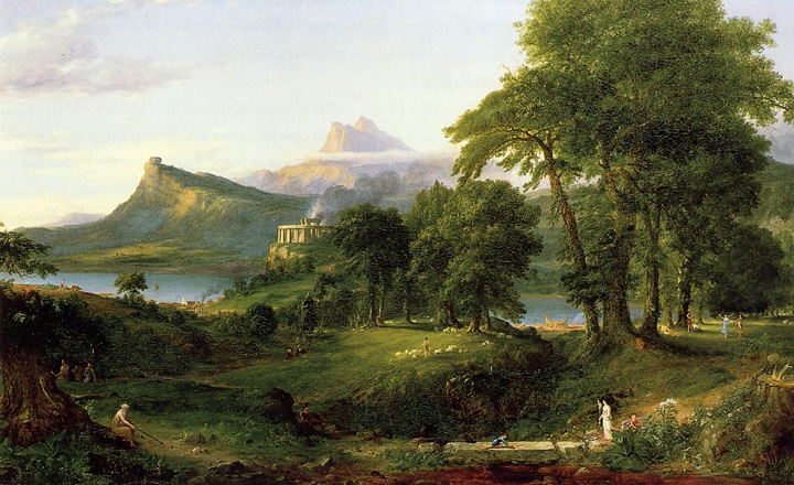Cole_Thomas_The_Course_of_Empire_The_Arcadian_or_Pastoral_State_1836